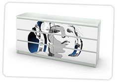Use Mykea to make custom decals from your photos to apply to Ikea furniture!