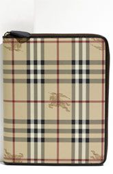 Burberry iPad cover at Nordstrom.