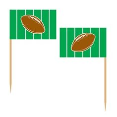 These football picks are great addition to add to your football party.