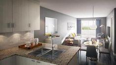 Experience elegant lifestyle in Danforth Square Condos. To book your apartment visit the presented link. #DanforthSquareCondos