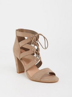 00d7027fa669 Taupe Caged Sandal (Wide Width). Stylish Shoes For WomenWide ...