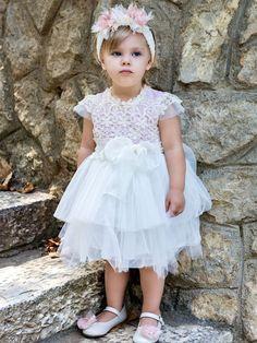 a632dac0de19 Οι 11 καλύτερες εικόνες του πίνακα Βαπτιστικά ρούχα για κορίτσια ...