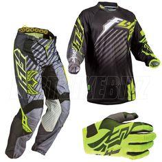 2013 Fly Racing Kinetic Rs Motocross Kit Combo - Black Yellow - 2013 Fly  Racing Kit 584443a45