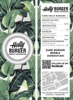 Holly Burger by Manuel Astorga, via Behance
