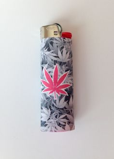 Pink weed leaf lighter / bic lighter/ marijuana, mary jane, pot, stoner by TheQuirkyRoom on Etsy https://www.etsy.com/listing/223764308/pink-weed-leaf-lighter-bic-lighter