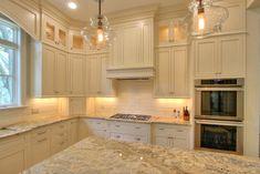 Kitchen Cabinetry Custom Kitchens, Home Kitchens, Dream Kitchens, Kitchen Cabinetry, Kitchen Flooring, New Kitchen, Kitchen Ideas, Trim Work, Custom Cabinetry
