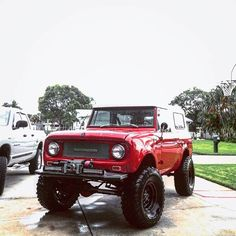||| Great stance on this '67! Photo cred: http://ift.tt/2c3kEPL ||| international scout 80/800 |||