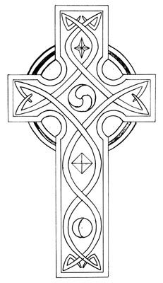 The Celtic cross is an evocative symbol of British past, conjuring up images of mist-shrouded churchyards sitting on rocky headlands where saintly missionaries from Rome converted the ancient Celts and Saxons from their pagan ways. The conversions wer