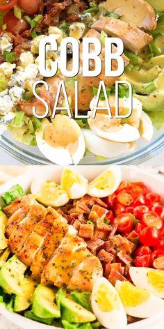 Best Salad Recipes, Salad Recipes For Dinner, Dinner Salads, Peach Recipes Dinner, Recipes For Salads, Meal Prep Salads, Clean Eating Dinner Recipes, Paleo Salad Recipes, Salad Recipes Video