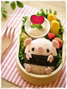 Pig bento #food #japan