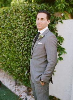 Dapper groom | Photo by Lane Dittoe