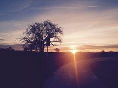 Sunset in Schlaitdorf