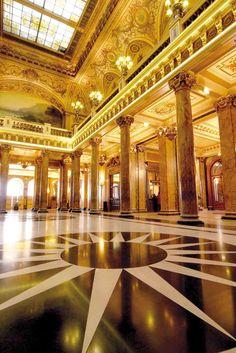 Atrium of the Monte Carlo Casino
