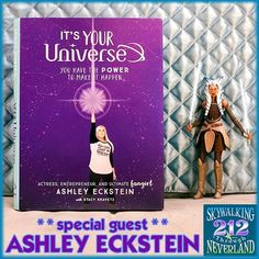 NEW SHOW: @HerUniverse joins us to discuss her NEW BOOK being a #DreamWarrior and also drops exclusive info regarding a NEW @ashley24taylor print coming soon to WonderGround Gallery. https://buff.ly/2I3bBx7