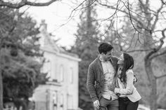 Engagement shoot at Stanmer House Brighton