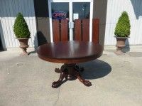 Antiques By Design   Split Pedestal Ball U0026 Claw Foot Mahogany Dining Table