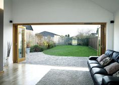 Oak Folding Sliding Doors London Bifold