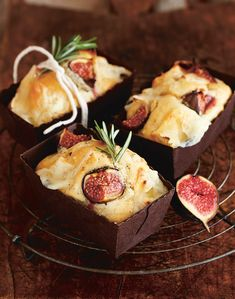 Savoury fig and goat
