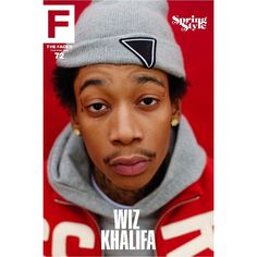 """Wiz Khalifa / The FADER Issue 72 Cover 20"""" x 30"""" Poster"""