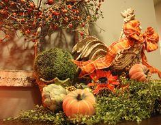 Savvy Seasons by Liz Thanksgiving Decorations, Seasonal Decor, Fall Decorations, Love Her Style, Fall Halloween, Centerpieces, Autumn, Seasons, News 19