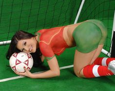 aboutsex: Soccer Women Body Painting2011