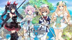 Cyberdimension Neptunia: 4 Goddesses Online - PC Review Online Pc Games, 4 Goddesses Online, Playstation Portable, Nintendo 3ds, Best Games, Link, Ps4 Review, Anime