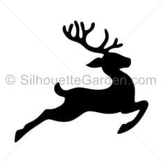 Christmas Deer, Christmas Signs, Christmas Pictures, Christmas Crafts, Silhouette Clip Art, Silhouette Cameo Projects, Christmas Templates, Christmas Printables, Santa Sleigh Silhouette