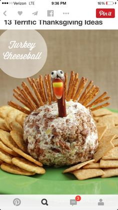 Turkey Cheeseball......