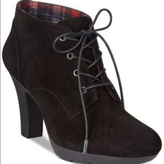Bandolino Suede Ankle Boots Booties New Bandolino Shoes Ankle Boots & Booties