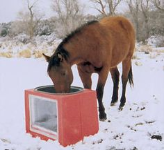 Suntanks: Freeze-proof Solar Heated Horse Waterers,Cow Water Tanks