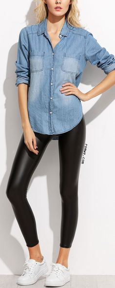 a5ee524ac6f 38 Amazing Faux leather leggings images