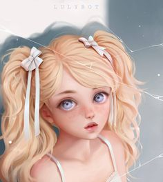 Cute Art Styles, Cartoon Art Styles, Girly Drawings, Digital Art Girl, Pretty Art, Anime Art Girl, Amazing Art, Character Art, Fantasy Art