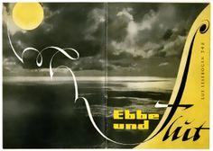 """""""Ebbe und Flut"""", Lux-lesebogen 348, design: Karlheinz Dobsky"""