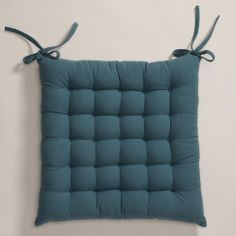 One of my favorite discoveries at WorldMarket.com: Blue Dasutti Chair Cushion