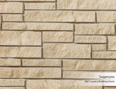Old Country Building Stone - Sugarcane