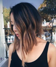 Welcome the new season with a new style. A fresh look can often lead to a fresh perspective. #T3Inspo #hair #bob #shorthair #ombre