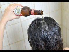 Dile adiós a tus canas y a los tintes para canas, pues con esta receta tu cabello recobrará su color - YouTube