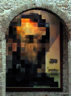 Older man or naked woman? - Salvador Dali, Spain.con Dalí pero para mí es Gala, nunca existió otra modelo que Gala  .