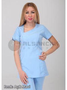 Doktor Forması - Açık Mavi Damla Yaka Alpaka Hemşire ve Doktor Forması   Ürünümüz tükenmiştir.  #doktor #hemşire #doktorönlüğü #alsancaküniforma #izmir #moda #laborant #üniforma #uniforma #medikal #medical #scrubs #forma #doktor forması #hemşire forması #yarasakol #önlük #hakimyaka #sporyaka