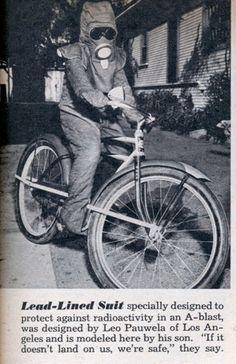 Radiation Proof Bike Suit (Mar, 1952)