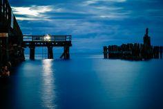 A Fisherman by Night, Davis Bay, British Columbia