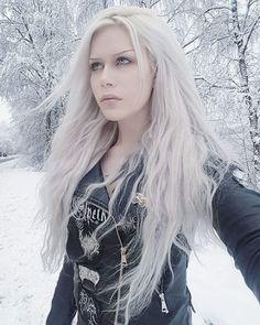 December 28 2018 at Gothic Girls, Gothic Baby, Hot Goth Girls, Goth Beauty, Blonde Beauty, Dark Fashion, Gothic Fashion, Black Hair Dye, Tattoo On