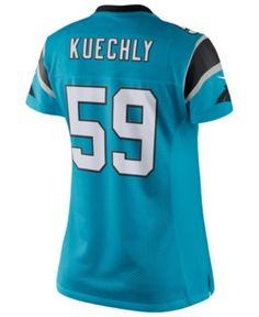 560c55bed Nike Women s Luke Kuechly Carolina Panthers Color Rush Limited Jersey -  Blue S Nike Running Shoes