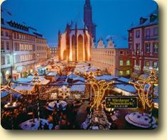 Wurzburg Christmas Market  25th November – 23rd December 2016 Opening Times Mon-Sat 10am-8.30pm Sun 11am-8.30pm