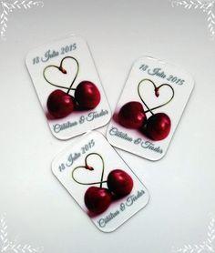 Magneti de frigider, marturii pentru nunta | MopoShop Fruit, Wedding, Valentines Day Weddings, Weddings, Marriage, Chartreuse Wedding