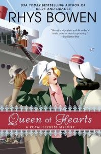 Giveaway: QUEEN OF HEARTS by Rhys Bowen - Teddyrose Book Reviews Plus