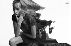 Photo Cassi Van Den Dungen by Bec Parsons for 10 Magazine S/S 2015