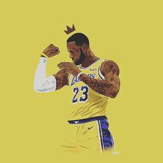 Lebron James Lakers, King Lebron James, King James, Basketball Art, Basketball Pictures, Basketball Players, Lebron James Wallpapers, Nba Wallpapers, Miami Heat