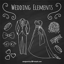 Resultado de imagen para vestidos dibujados a mano de novia