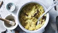 """The perfect accompaniment to our <a href=""""http://www.bbc.co.uk/food/recipes/crunchy_palak_paneer_42857"""">crunchy palak paneer</a>. Freshly ground spices add so much flavour, so get out the pestle and mortar!"""